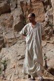 Marokkaanse mensen in dadeskloven Royalty-vrije Stock Foto's