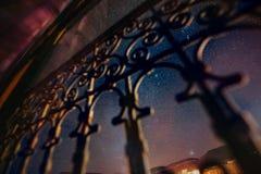 Marokkaanse nightsky 2 stock foto's