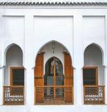 Marokkaanse riad Stock Foto's