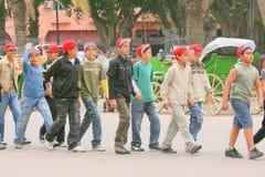 Marokkaanse schooljongens Stock Fotografie