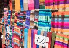 Marokkaanse sjaals Royalty-vrije Stock Afbeeldingen