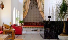 Marokkaanse Stijl In Woonkamer Stock Foto - Afbeelding bestaande uit ...