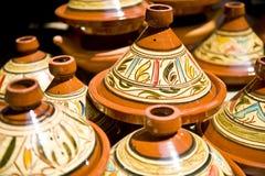 Marokkaanse Tagine Stock Fotografie