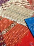 Marokkaanse tapijten Stock Foto's