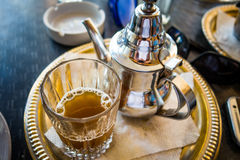 Marokkaanse thee Stock Foto