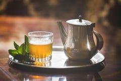 Marokkaanse thee Stock Afbeeldingen