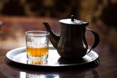 Marokkaanse thee Royalty-vrije Stock Foto