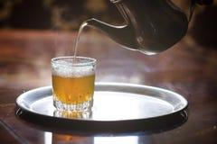 Marokkaanse thee Stock Foto's