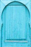 Marokkaanse Traditionele Deur Stock Afbeelding