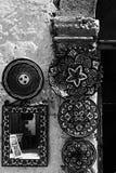 Marokkaanse traditionele ornamentplaten royalty-vrije stock afbeeldingen