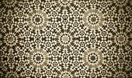 Marokkaanse uitstekende tegelachtergrond stock foto