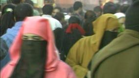 Marokkaanse vrouwen Marrakech stock video