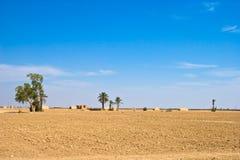 Marokkaanse woestijn stock foto