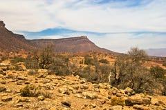 Marokkaanse woestijn Royalty-vrije Stock Foto's