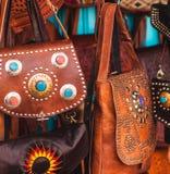 Marokkaanse zakken Royalty-vrije Stock Fotografie