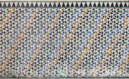 Marokkaanse Zellige-tegel Royalty-vrije Stock Afbeeldingen