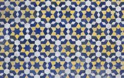 Marokkaanse Zellige-tegel Royalty-vrije Stock Foto