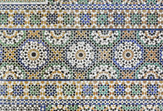 Marokkaanse Zellige-tegel Stock Afbeeldingen