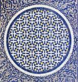 Marokkaanse Zellige tilework Stock Afbeeldingen