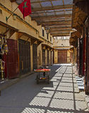Marokkaanse Zijstraat Stock Afbeeldingen