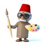 Marokkaner 3d ist ein Künstler Lizenzfreie Stockfotos