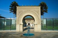 Marokkanische Architektur Lizenzfreies Stockbild