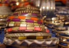 Marokkanische Armbänder Lizenzfreies Stockfoto