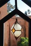 Marokkanische Artlampe Stockbild