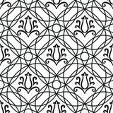 Marokkanische Fliesenverzierungen Stockfoto