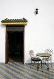 Marokkanische Gaststätte Stockfotografie
