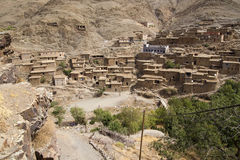 Marokkanische Häuser Stockfotografie
