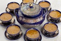 Marokkanische harira Suppe Stockbild