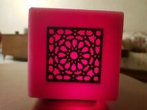 Marokkanische Kunstkerze lizenzfreies stockfoto