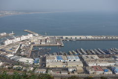 Marokkanische Landschaft Standpunkt in Agadir Lizenzfreie Stockbilder
