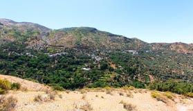 Marokkanische Landschafts-Landschaft im Sommer, Stockbild
