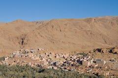 Marokkanische Stadt Lizenzfreies Stockfoto