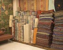 Marokkanische Teppiche Stockbilder