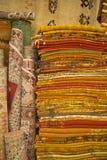 Marokkanische Teppiche Stockbild