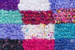 Marokkanische Wolldecke Stockfoto