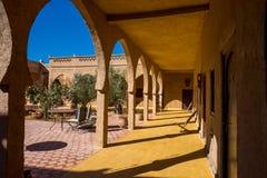Marokkanischer Artkorridor Stockfotos