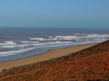 Marokkanischer Strand Lizenzfreie Stockfotografie