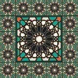 Marokkanischer traditioneller Mosaikausgangsdekor Lizenzfreies Stockbild