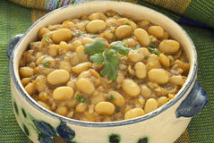 Marokkanischer weißer Bean Stew Stockfotografie
