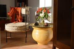 Marokkanisches Artwohnzimmer lizenzfreie stockfotos