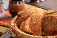 Marokkanisches Brot Stockbild