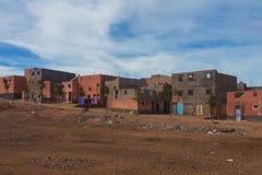 Marokkanisches Dorf Stockfotos