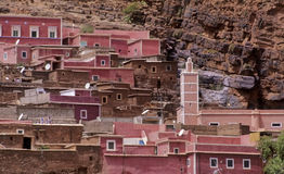 Marokkanisches Dorf no.3 stockfotos