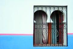 Marokkanisches Fenster stockfotos