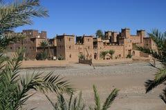 Marokkanisches Kasbah Stockfoto