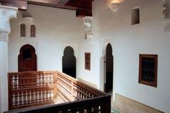 Marokkanisches medersa Stockbild